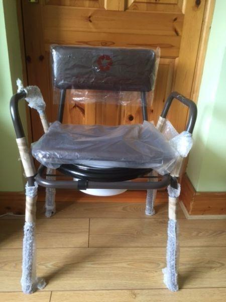 Commode. Brand new with original plastic covering still on. Free