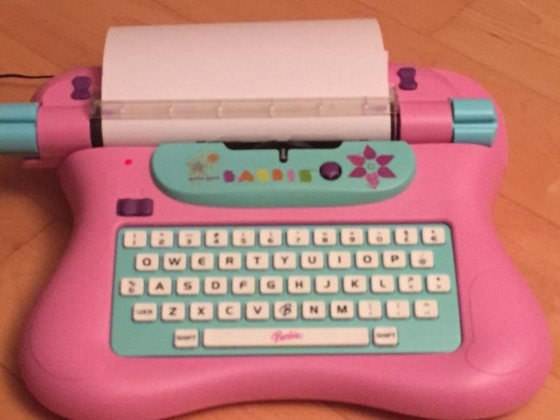 Barbie Electronic Typewriter