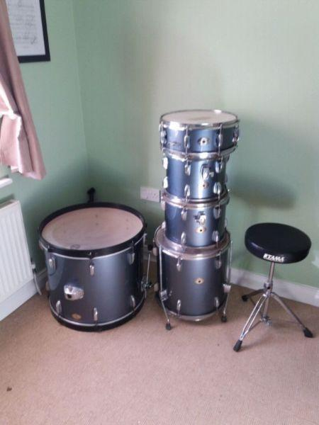 5 piece tama swingstar drum kit for sale