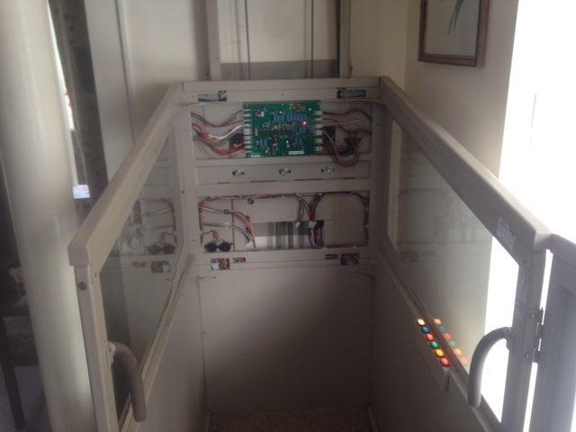Pollock 2nd Hand Electric Through Floor Wheelchair Lift - Excellent Condition