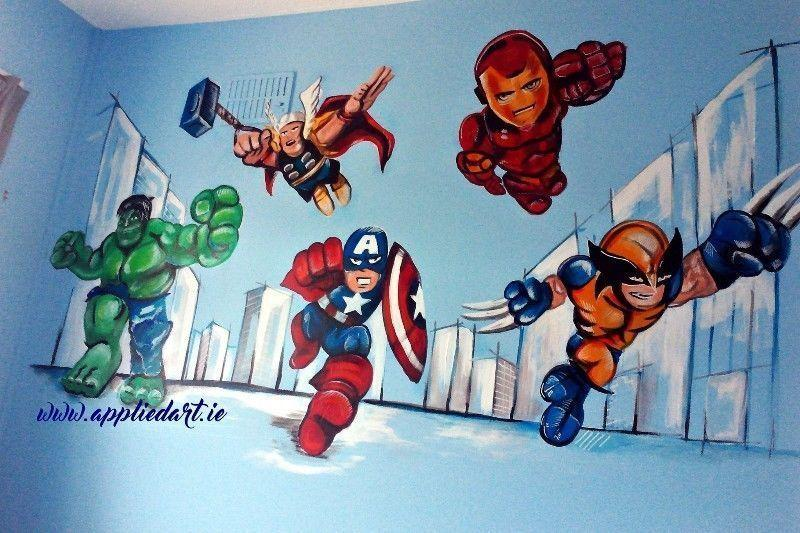 Children Mural Paintings appliedart.ie