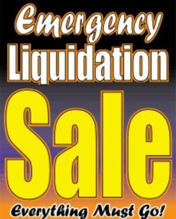 Liquadation Furniture *(Massive Sale)*