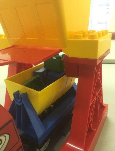 Lego Duplo -carriages and train extensions