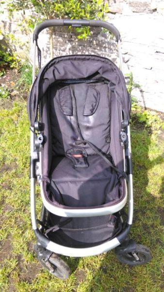 Baby twin buggy / stroller