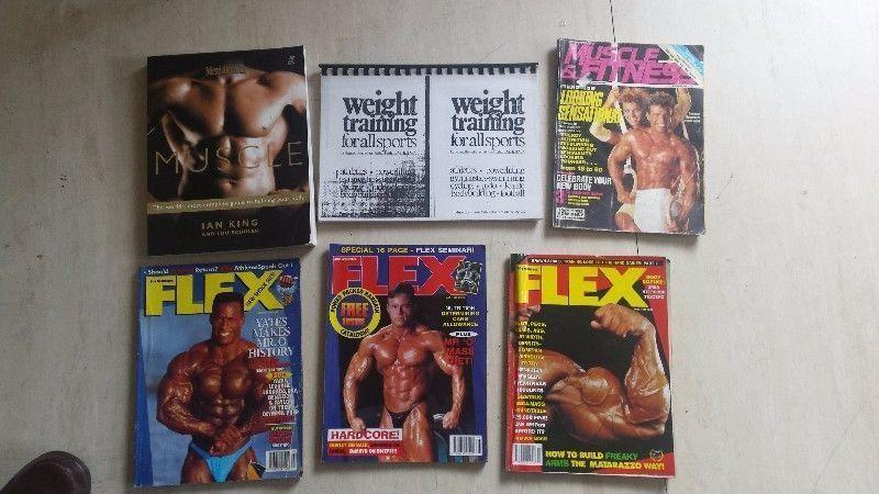 Fitness book and magazines for sale