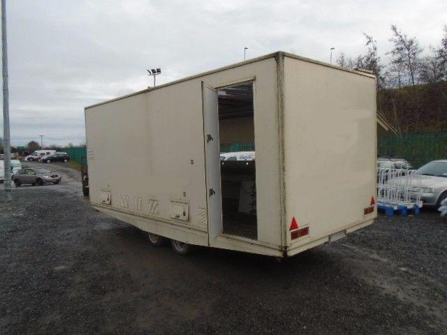 Catering Trailer For Auction on 24/01/17