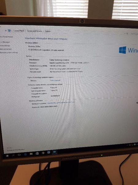 Fujitsu Complete Desktop Computer