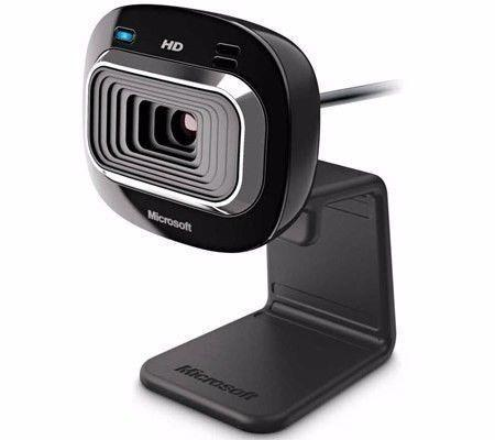 Microsoft LifeCam HD-3000 Webcam - Black -2nd hand