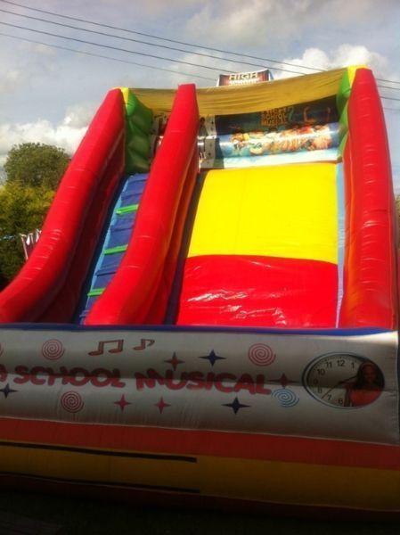 High School Musical, Mega slide for sale. 1200 euros. Tel- 0876766676