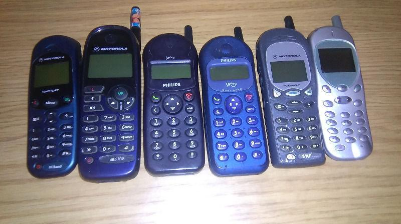 Retro mobile phones