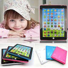 Kid children learning English electronic tablet pad educational toy