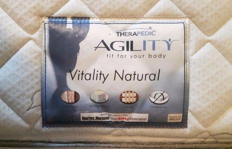 King size bed - Vitality Mattress and Divan Bed