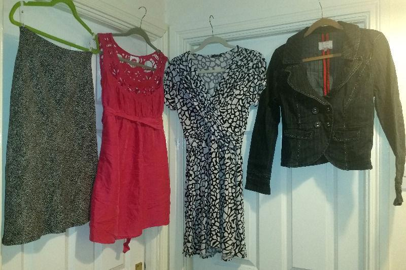 23 item bundle highstreet brand clothes Size 10-12.BARGAIN! Diesel,Morgan,ZARA,LA Gear,Next,Mexx,H&M