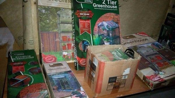 Job Lot of Garden & Outdoor Stock for Resale Opp'