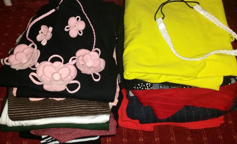 23 item bundle highstreet brand clothes Size 10-12.BARGAIN! Ben Sherman,ZARA,LA Gear,Next,Mexx,H&M