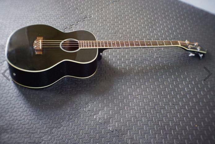 Richwood Semi-Acoustic Bass For Sale