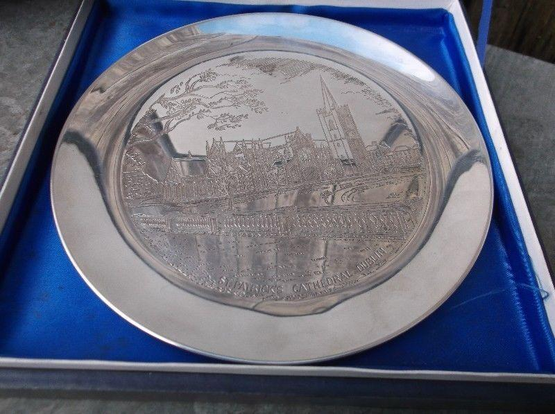 IRISH SOLID SILVER PLATE