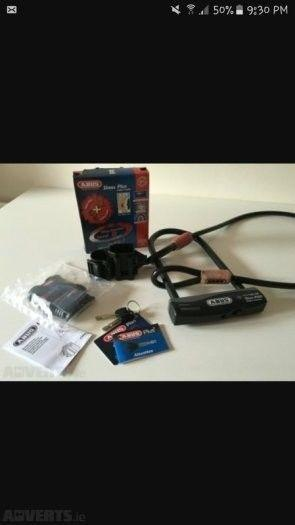 ***Bike Lock for Sale* - Abus D lock and cable set