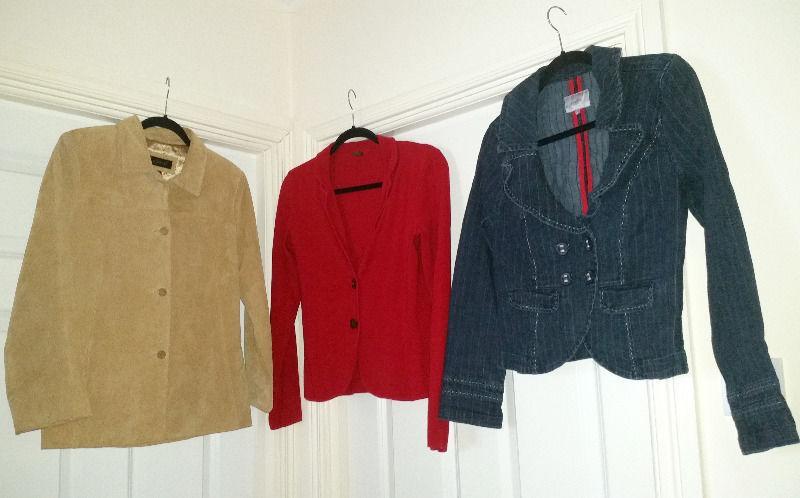 21 items clothes Size 10-12 for 15 euros. BARGAIN! Ben Sherman,Per Una,LA Gear,Next,H&M