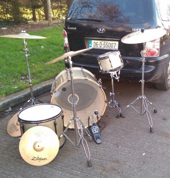 Tama Superstar Drums and Cymbals