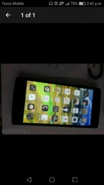 Iphone 4 & 5inch tomtom phone dual sim