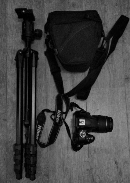 Nikon D3300 (with Tripod, other stuff)
