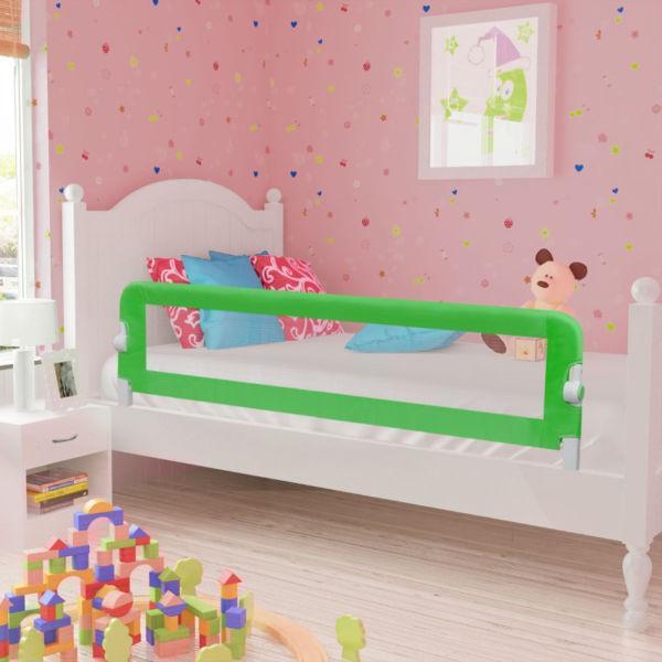 Toddler Safety Bed Rail 150 x 42 cm Green(SKU10100)