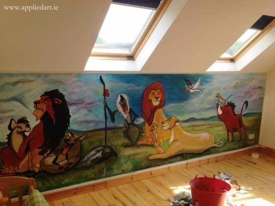 Kids Murals Paintings Wall Decoration