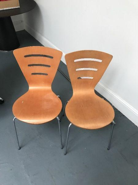 Pair of chairs For FREE Must Collect