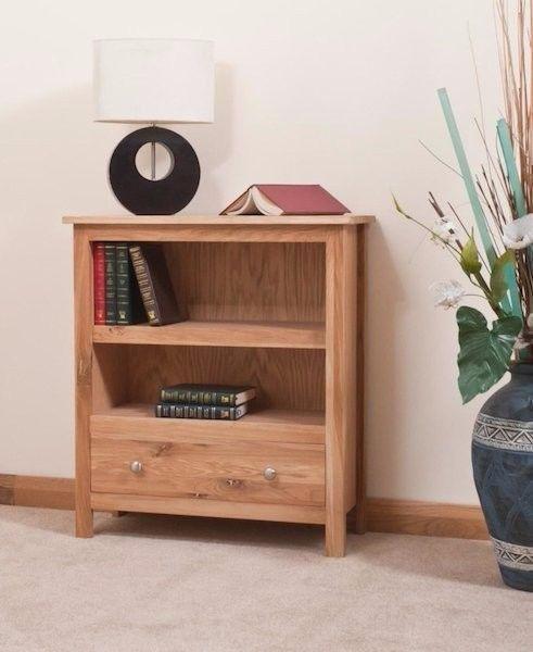 New Oakwood Small Bookcase