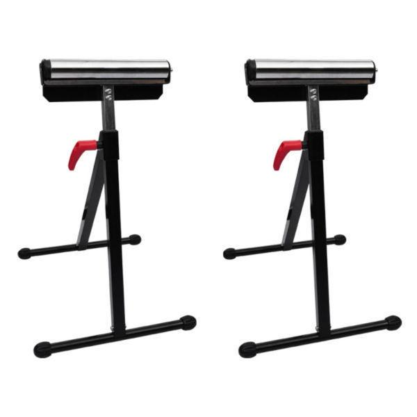Scaffolding:Set of 2 Adjustable Roller Stands(SKU140162)