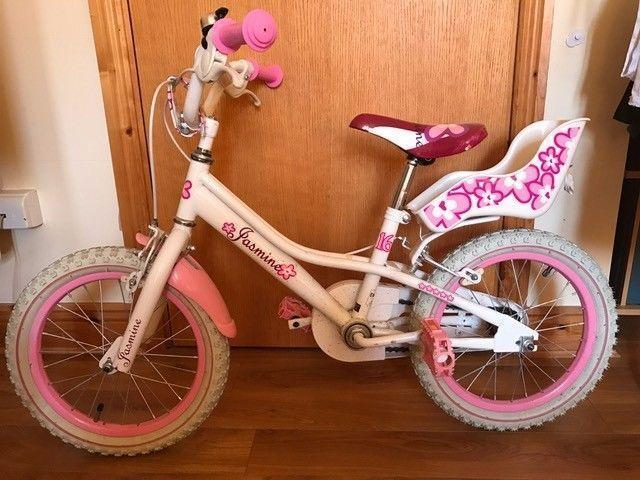 kid girl bike 16