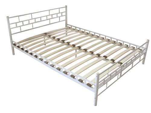 Beds & Bed Frames : vidaXL Bed Only Frame 180x200 cm 6FT Super King White(SKU60692)