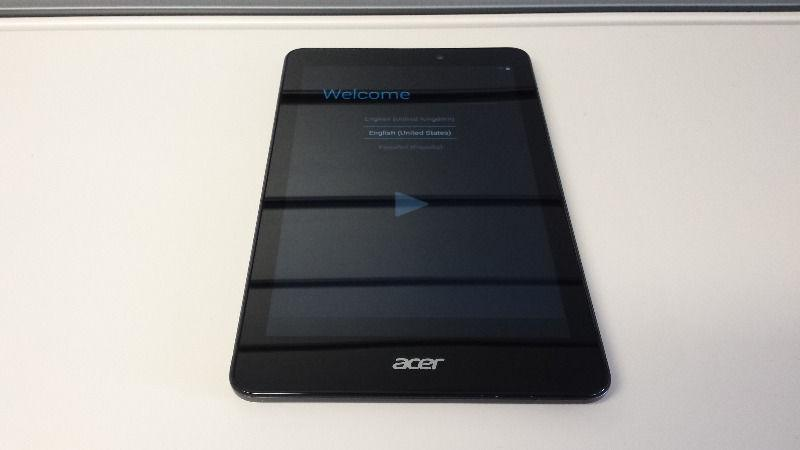 SALE Acer Iconia Tab 8 inch In Black 16GB Android Kit Kat TABLET
