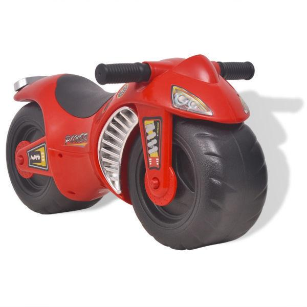 Push & Pedal Riding Vehicles : Ride-on Motorcycle Plastic Red(SKU100090)