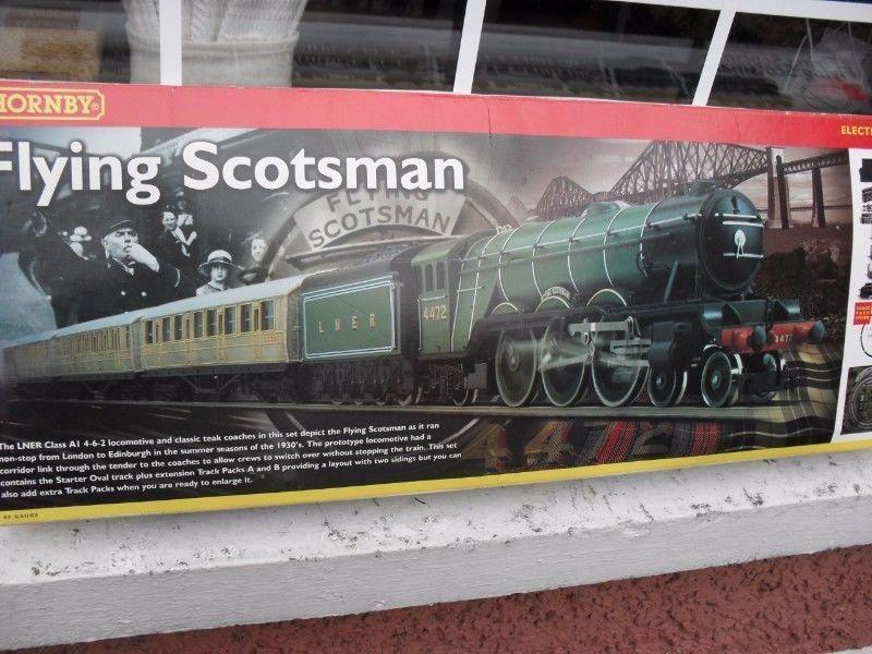 Flying Scotsman Train Set