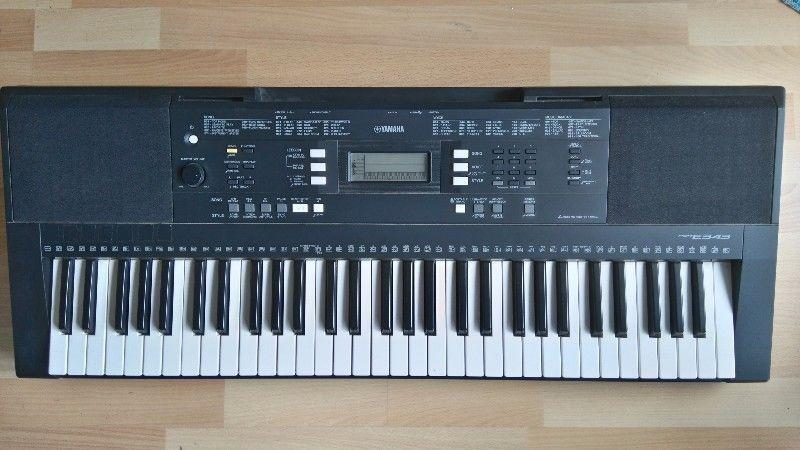 Yamaha keyboard digital piano midi