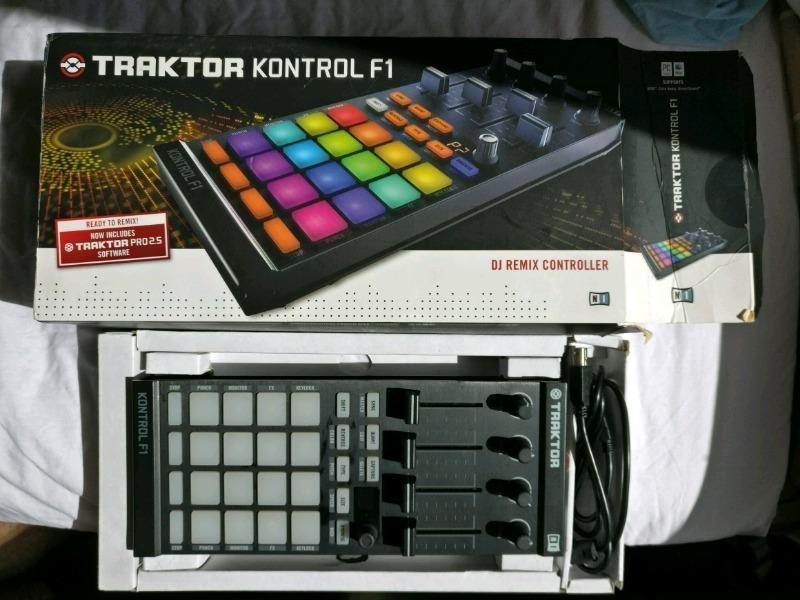 Native Instruments F1/X1 and Audio 8