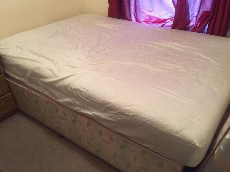 FREE DOUBLE BED & MATTRESS