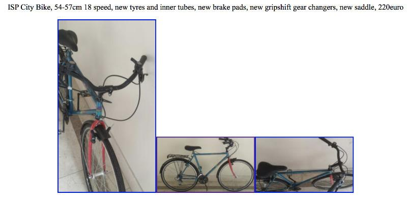 2 cycles for sale for next to nothing, leaving  tomorrow