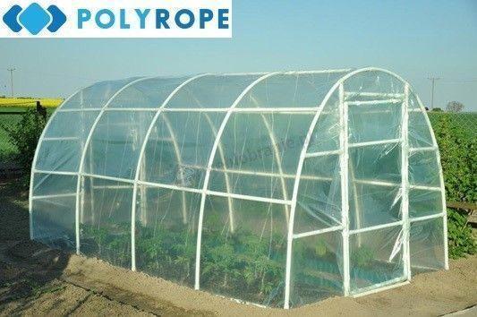 POLYTUNNEL PLASTIC POLYTHENE GREENHOUSE