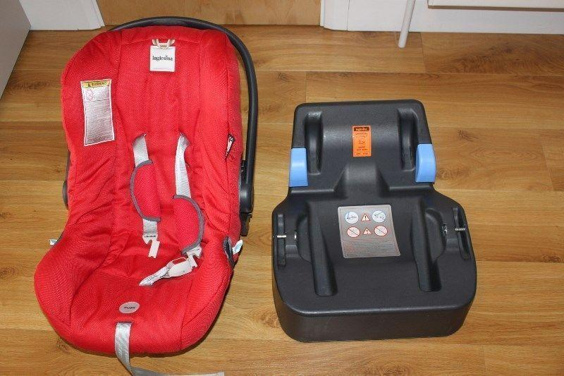 Zippy Inglesina practical and compact 3-in-1 travel system