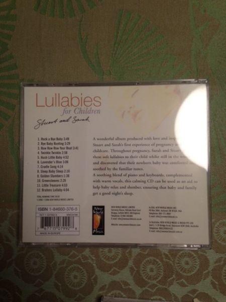 CD Lullabies for children