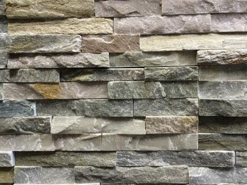 Grey quartz natural stone panels
