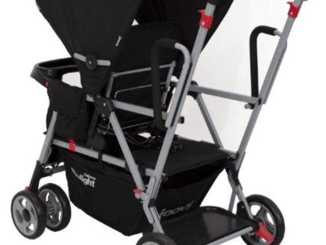Joovy Caboose Ultralight sit stand buggy