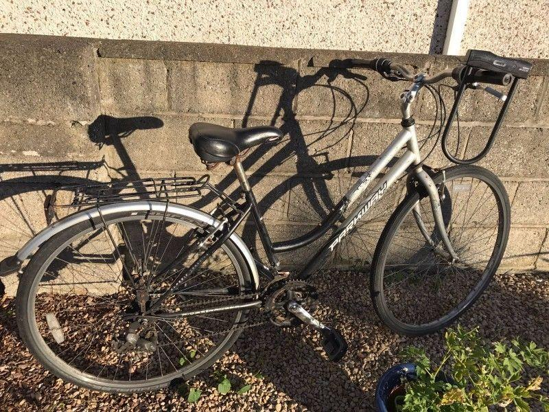 Second hand bicycle in working condition