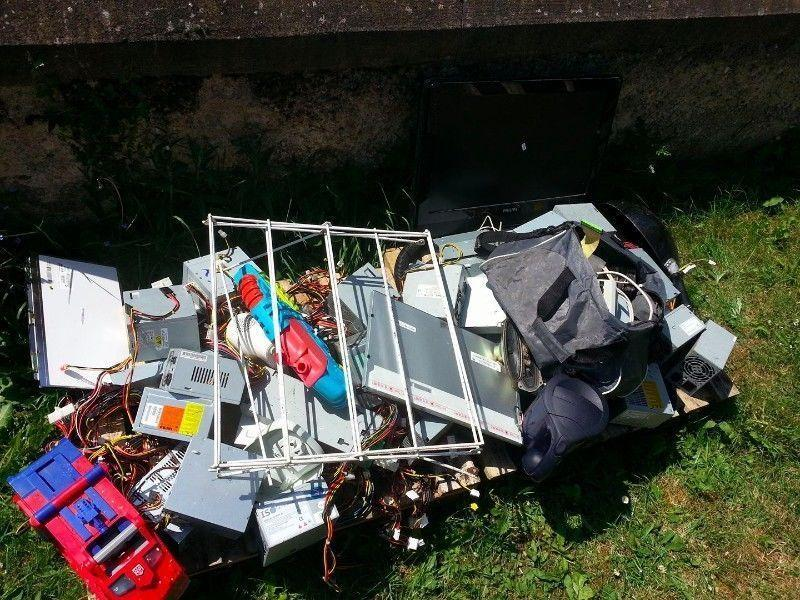 electronics scrap, FREE, all or nothing