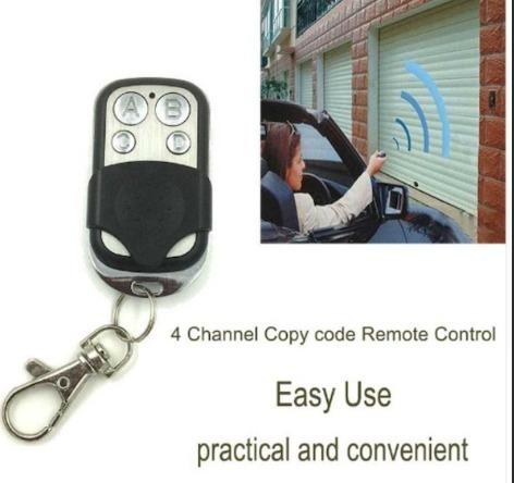 Cloning Remote Control key for Gate Garage Door