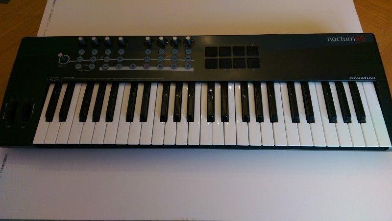 Keyboard (Novation Nocturn 49 Midi Controller)