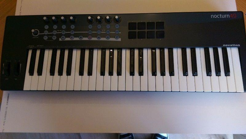 Keyboard (Novation Nocturn 49 Midi Controller)